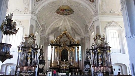 Altarraum Peterkirche BruchsalIMG_2405