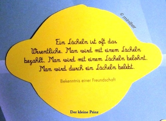 Favorit Der kleine Prinz 1   Minibares ZS48