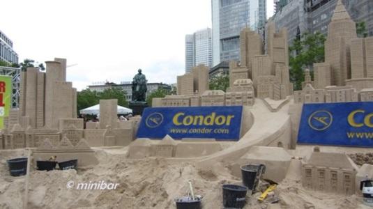 7648 Sand-Wolkenkratzer