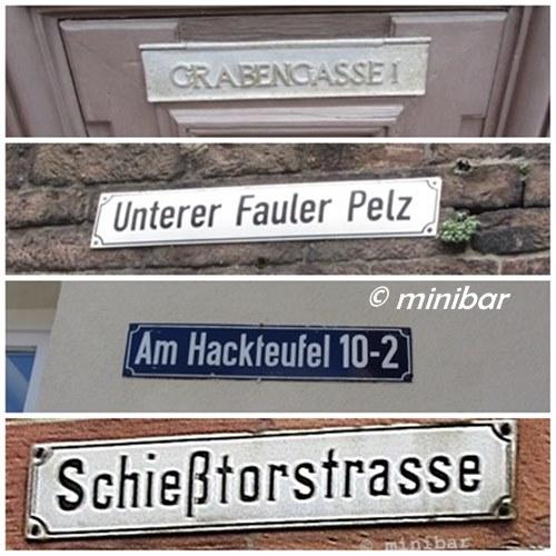 Namen-Straßen